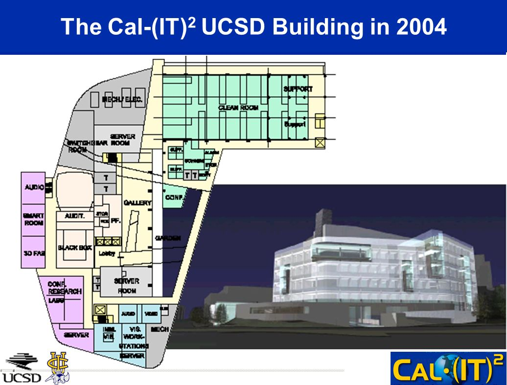 The Cal-(IT) 2 UCSD Building in 2004