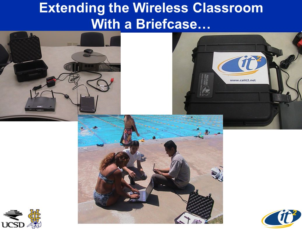 Extending the Wireless Classroom With a Briefcase…