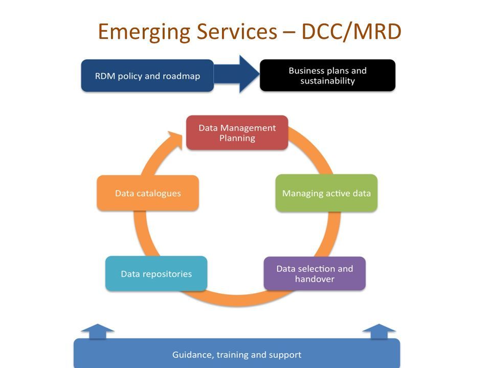Emerging Services – DCC/MRD
