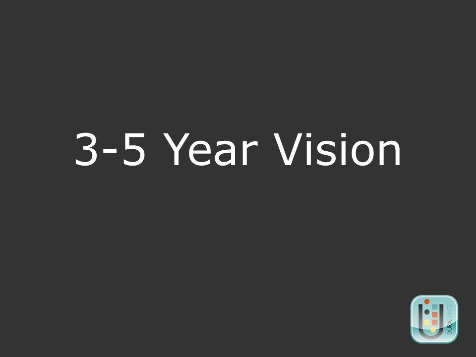 3-5 Year Vision