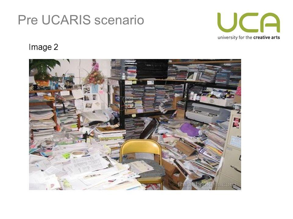 Pre UCARIS scenario Image 2
