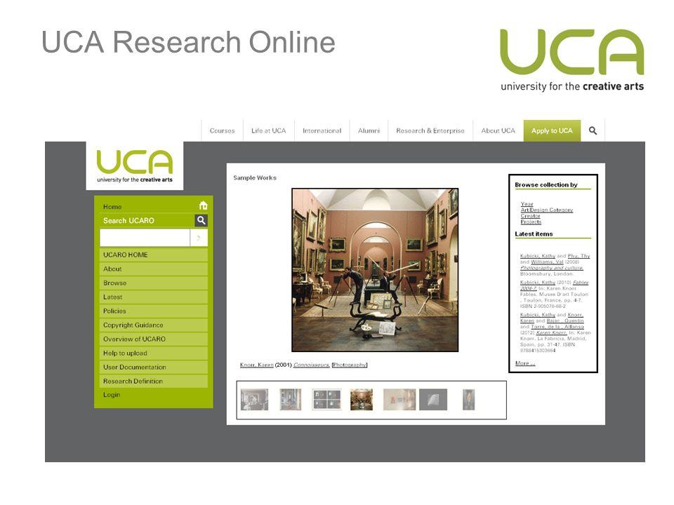 UCA Research Online