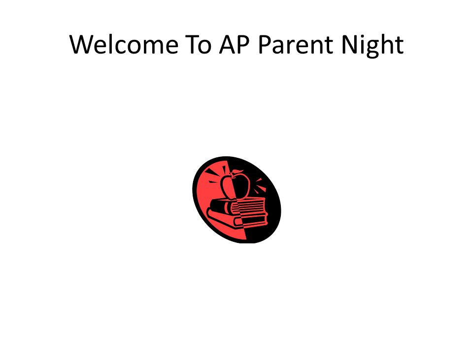 Welcome To AP Parent Night
