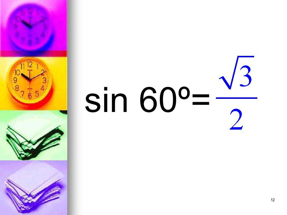 12 sin 60º=