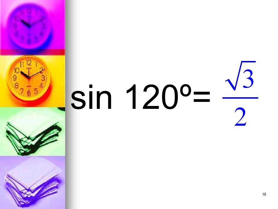 18 sin 120º=