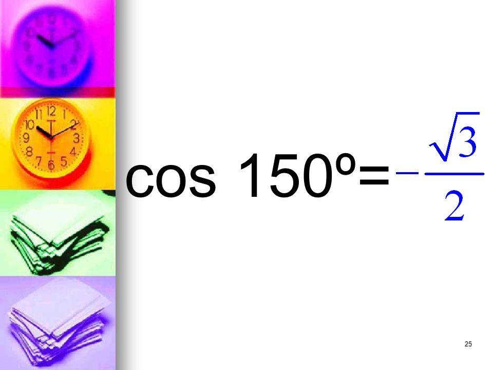 25 cos 150º=