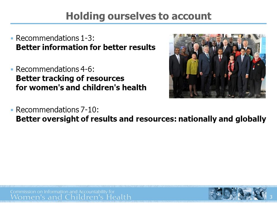What do we mean by accountability? Monitor Action Review
