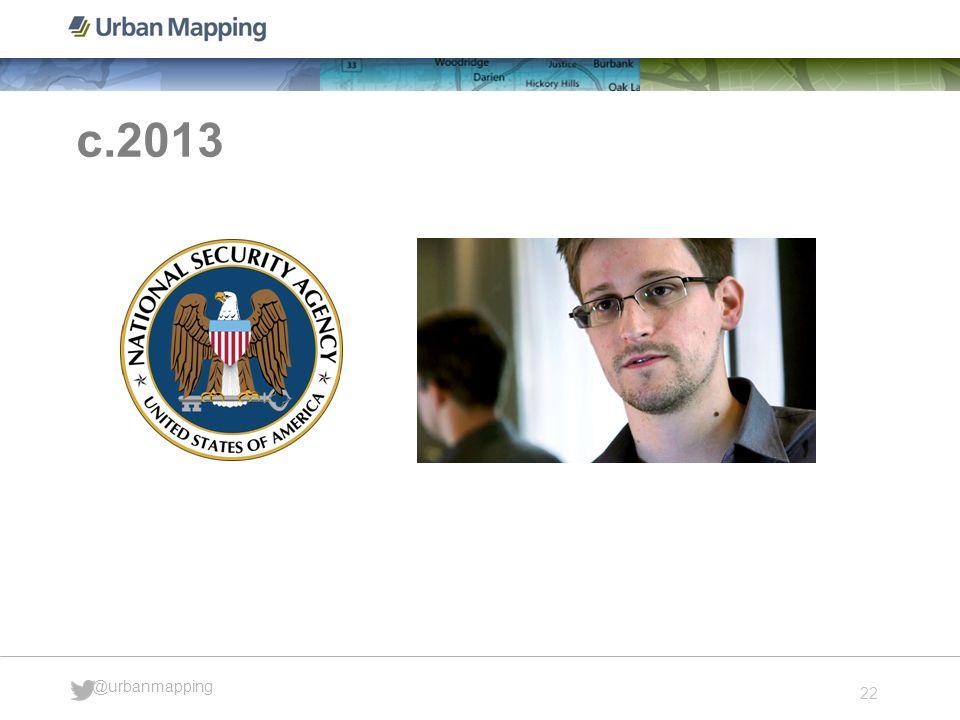 22 @urbanmapping c.2013