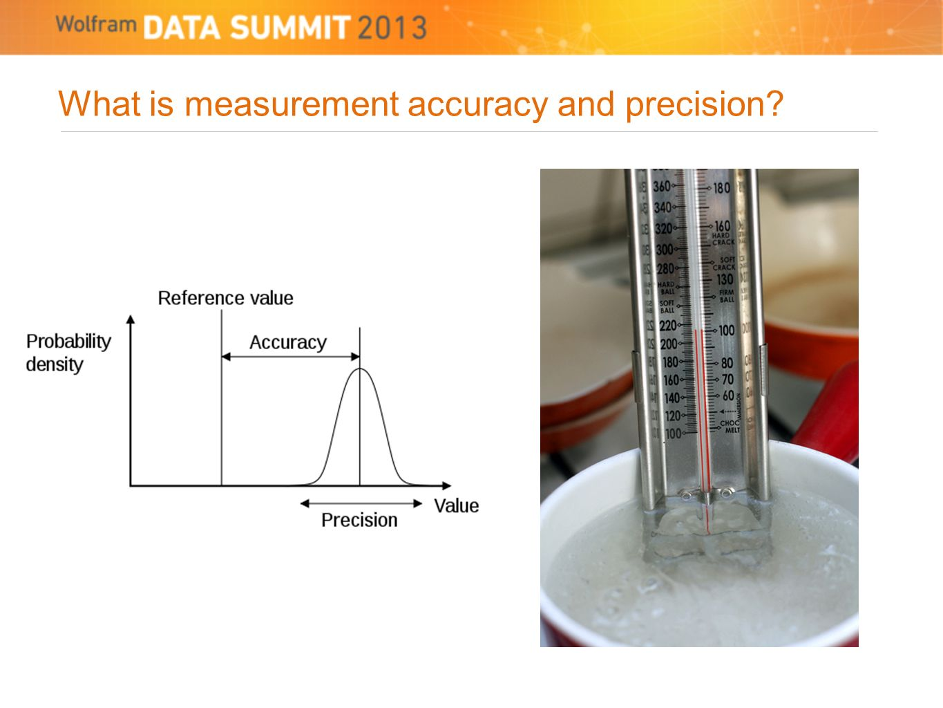 What is measurement accuracy and precision