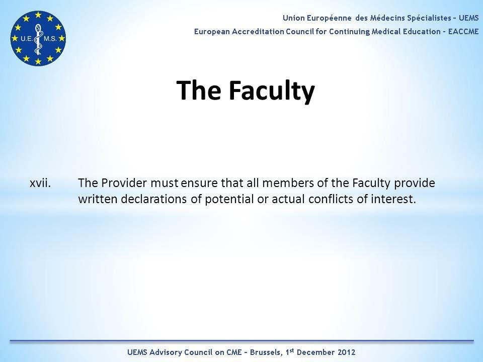 The Faculty xvii.