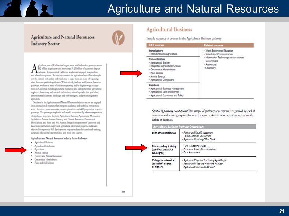 21 Agriculture and Natural Resources