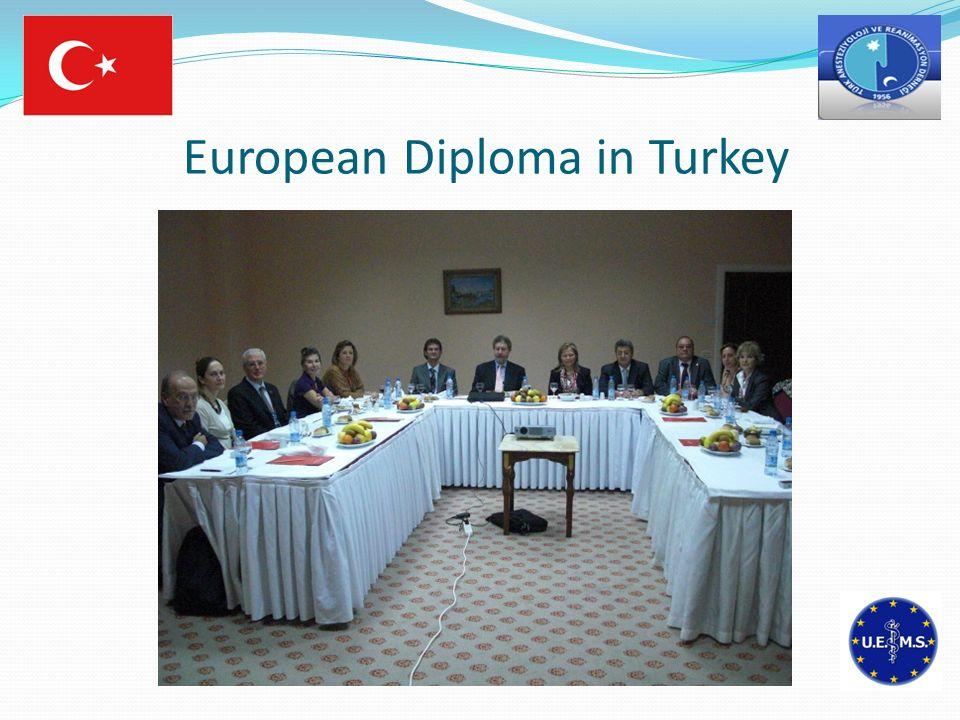 European Diploma in Turkey