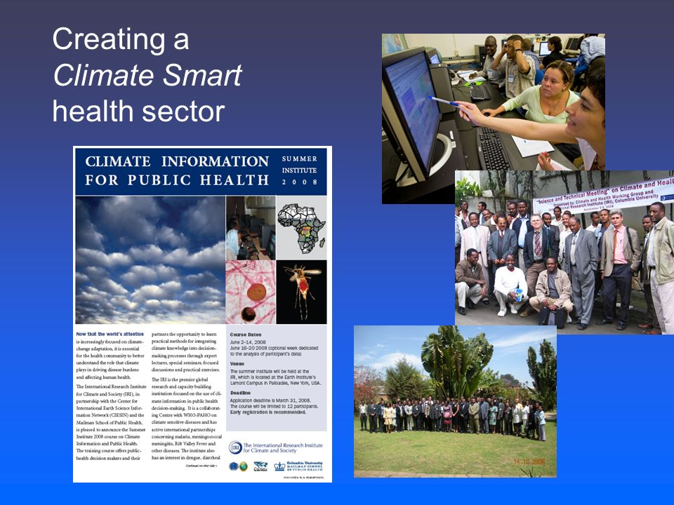 Creating a Climate Smart health sector
