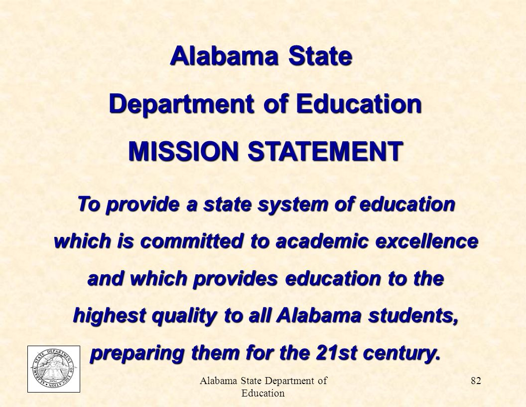 Alabama State Department of Education 81 Impact of Implementation of the Lee v.