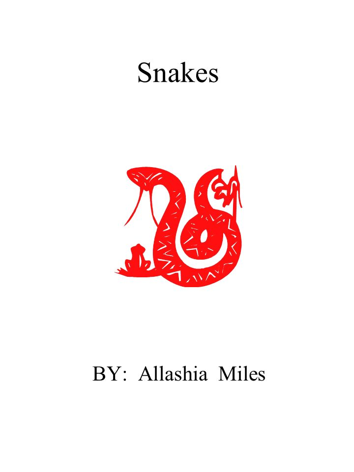 Snakes BY: Allashia Miles