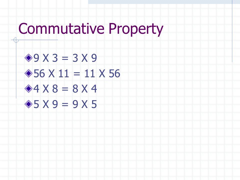 Distributive Property 4 X 509 = (4 X 500) + (4 X 9) 6 X 310 = (6 X 300) + (6 X 10) 5 X 205 = (5 X 200) + (5 X 5) 195 X 5 = (200 X 5) – (5 X 5)