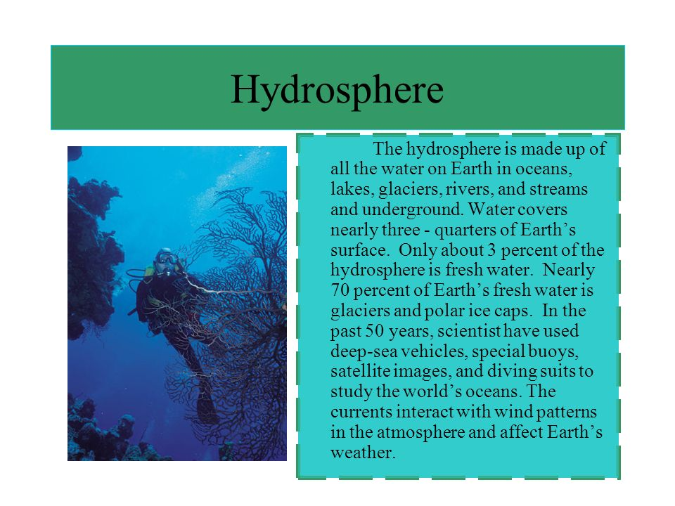Atmosphere The atmosphere is the mixture of gases and particles that surrounds and protects the surface of Earth.