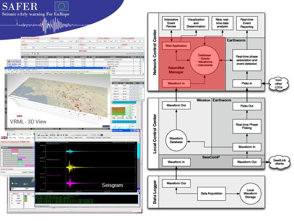 Seisgram VRML - 3D View