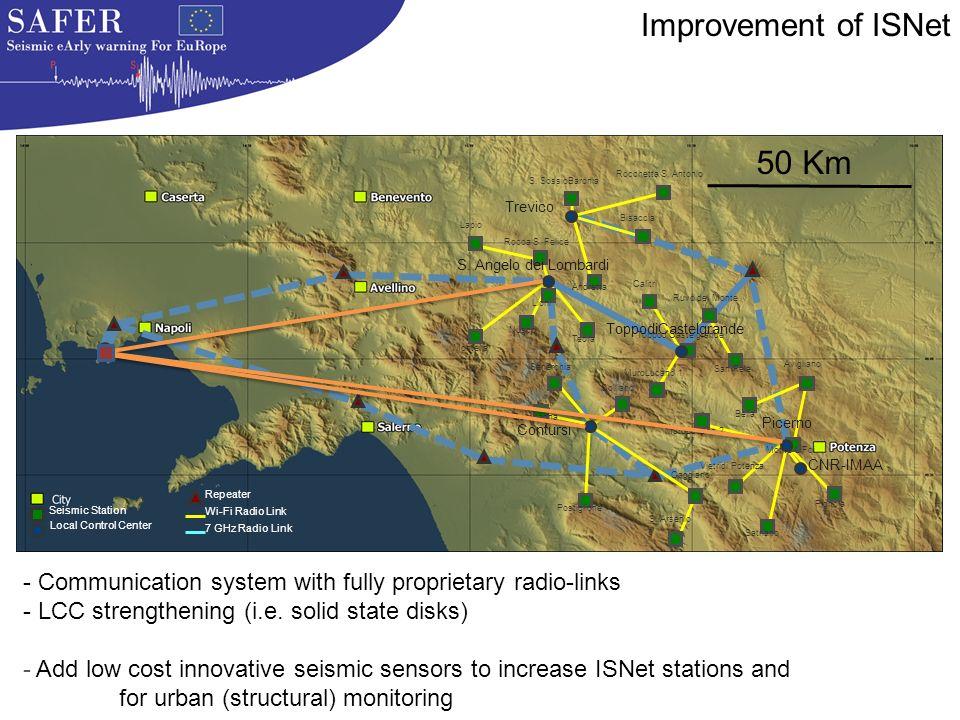 7 GHz Radio Link Repeater Wi-Fi Radio Link Lapio Rocca S.