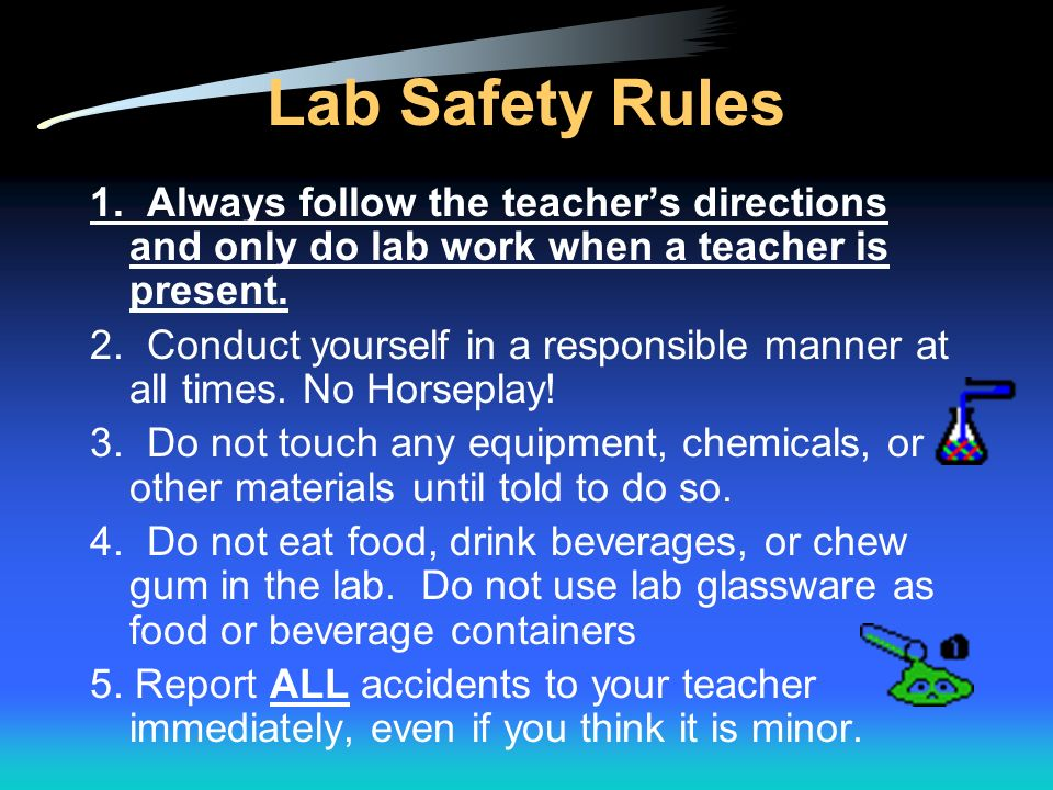 Why is Lab Safety Important? Lab safety is a major aspect of every lab based science class. Lab safety rules and symbols are needed so that students d