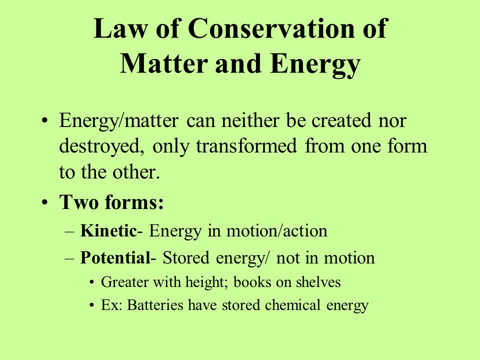 7 Sources of Energy: 1.Chemical- Anything that can be burned/a substance used for energy; Ex: Wood, gasoline, battery acid, fossil fuels (coal, oil and natural gas) Fossil fuels release carbon dioxide/monoxide into the air when burned All food is chemical energy 2.