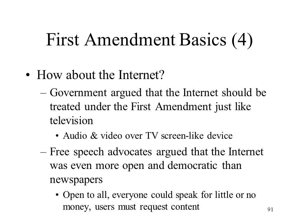 92 First Amendment Basics (5) ACLU v.