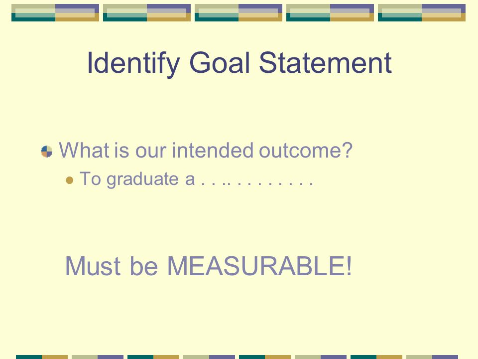 Outcome Assessment Sequence