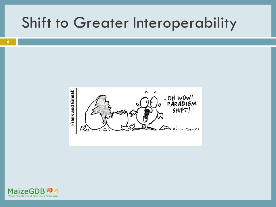 6 Shift to Greater Interoperability