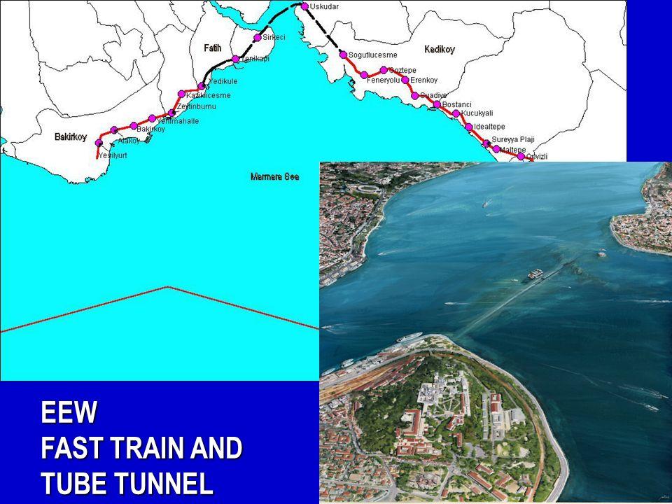 EEW FAST TRAIN AND TUBE TUNNEL