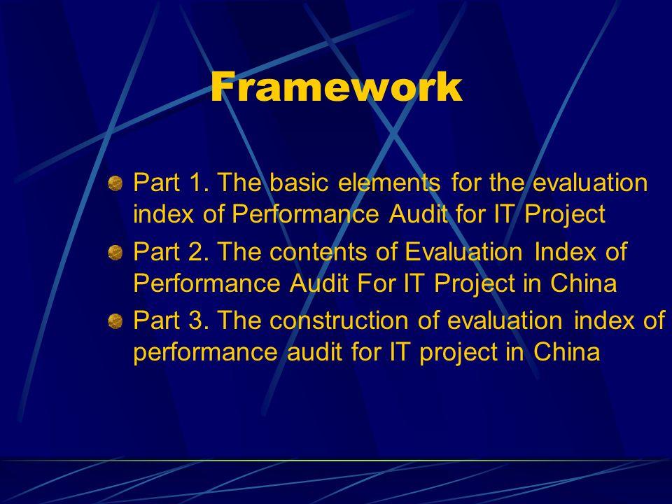Framework Part 1.