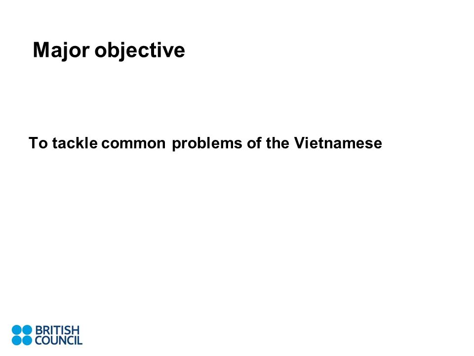 Main ways to deal with common errors (demonstration with tapes, exercises) Place of articulation Drilling, imitation, backward vocalizing Analogue with Vietnamese or whatever language the learners know Other…