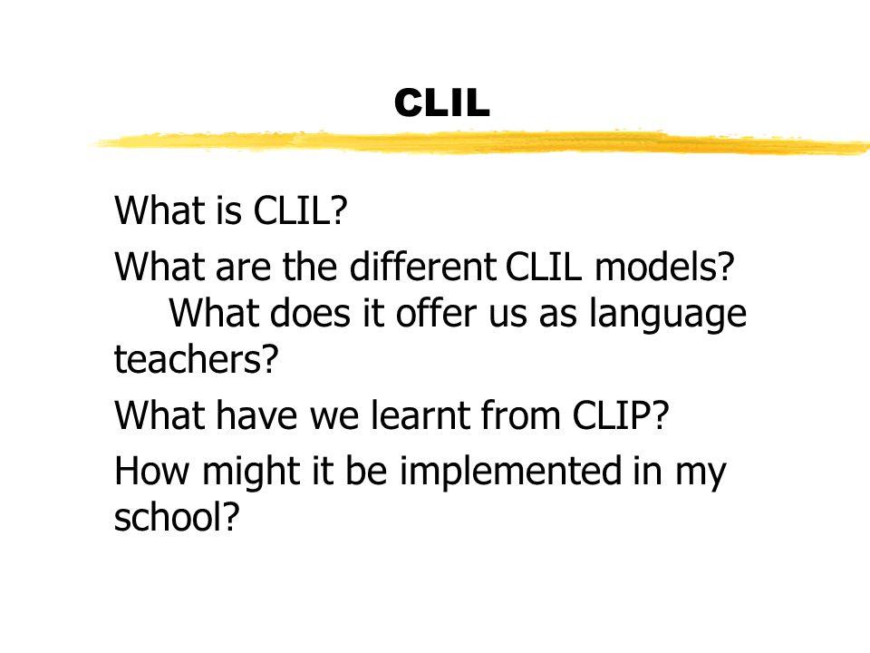 CLIL The 4Cs Teaching Framework: zcontent/subject matter/project/theme zcommunication/language zcognition/thinking zculture/citizenship University of Nottingham