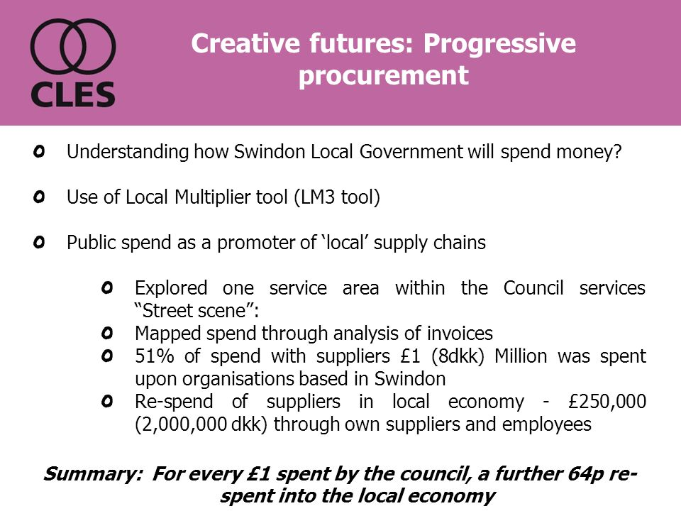 Understanding how Swindon Local Government will spend money.