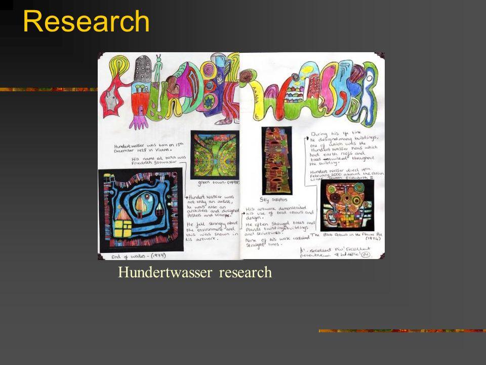 Research Hundertwasser research