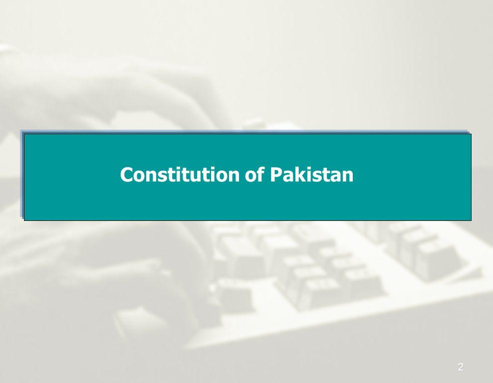 Constitution of Pakistan 2