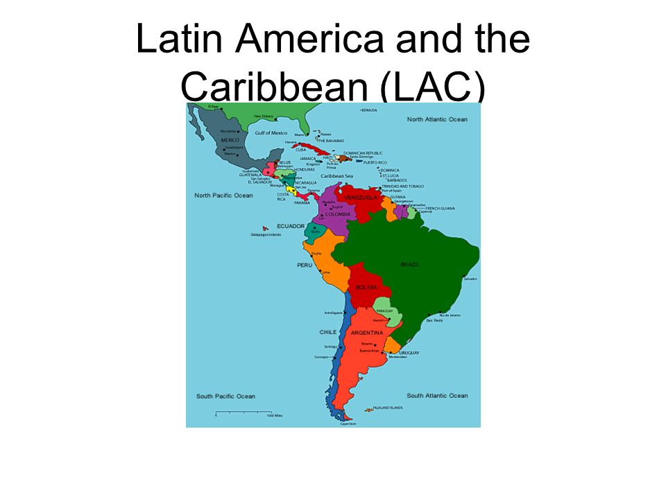 Latin America and the Caribbean (LAC)