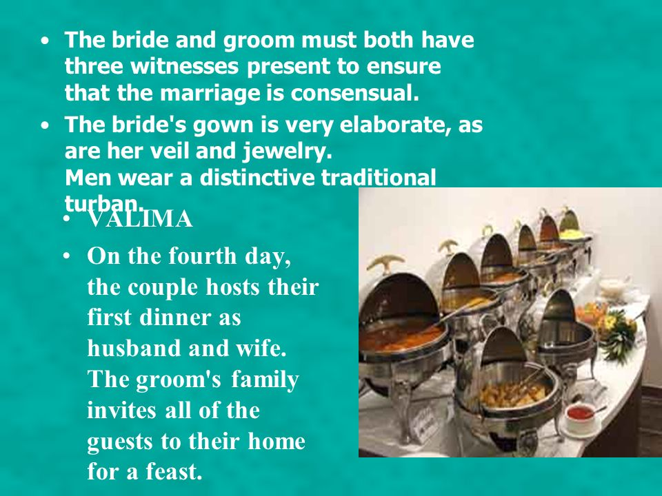 Nikah/Islamic Marriage Contract ceremony The nikah is the Islamic marriage contract ceremony. It is performed by an imam which formally indicates sign