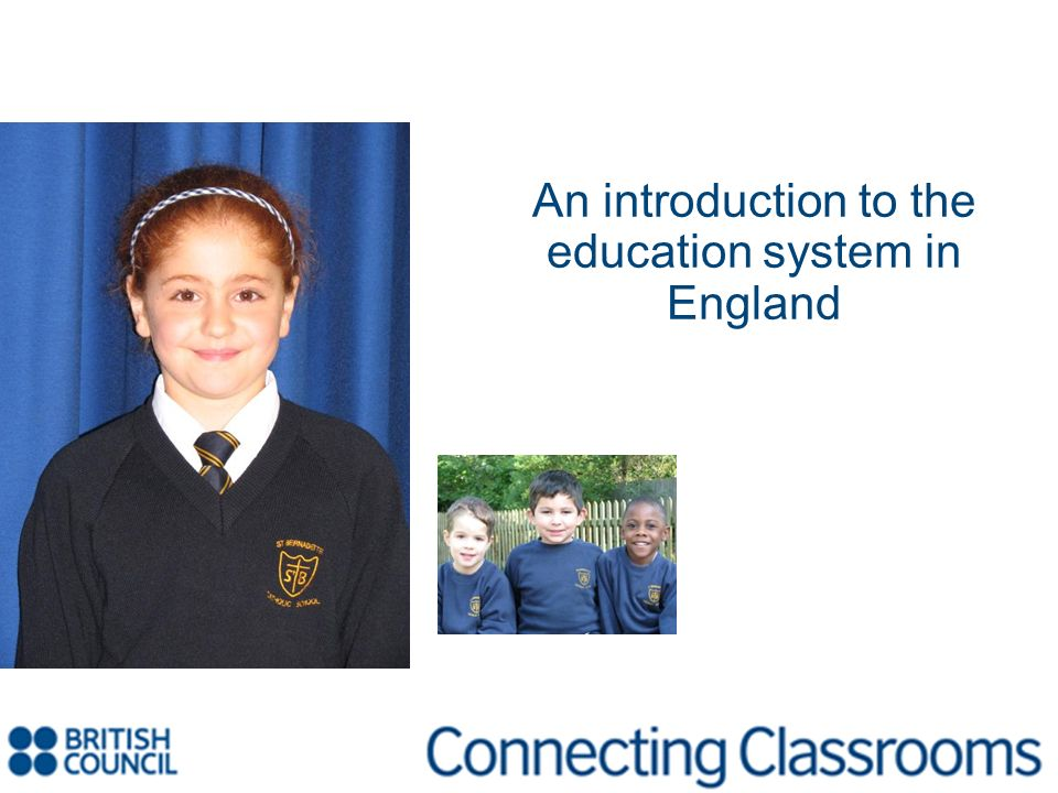 An introduction to the education system in England