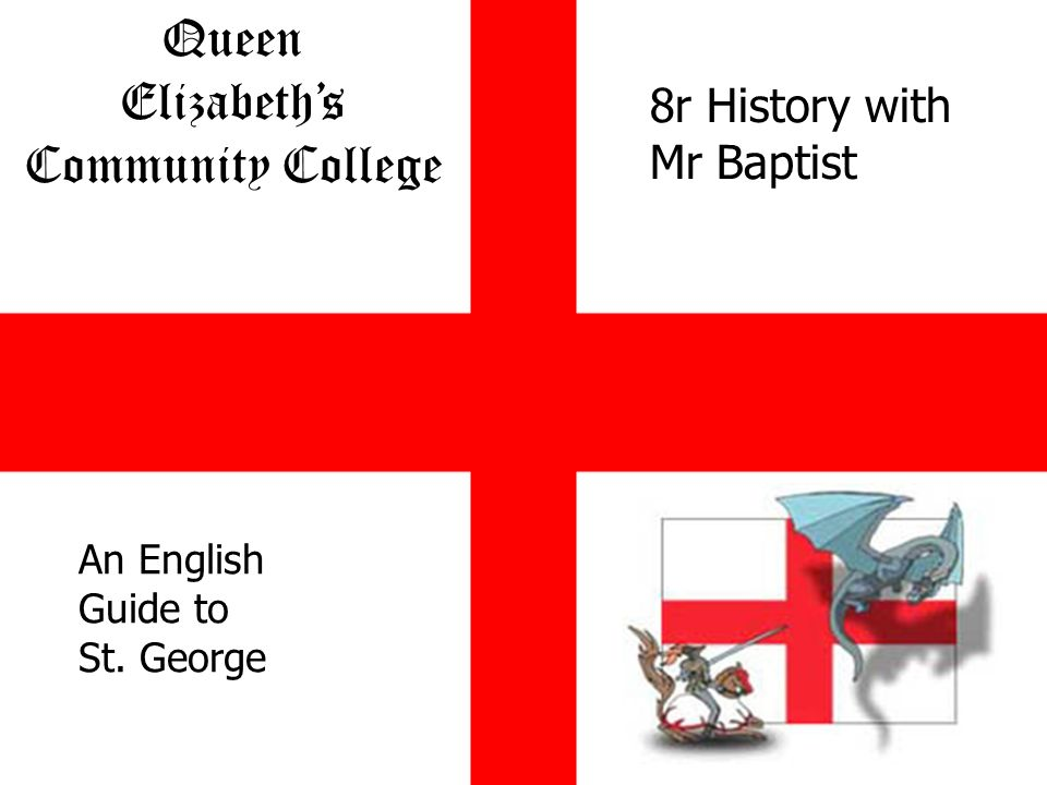 Queen Elizabeths Community College Together We Are Stronger An English Guide to St.