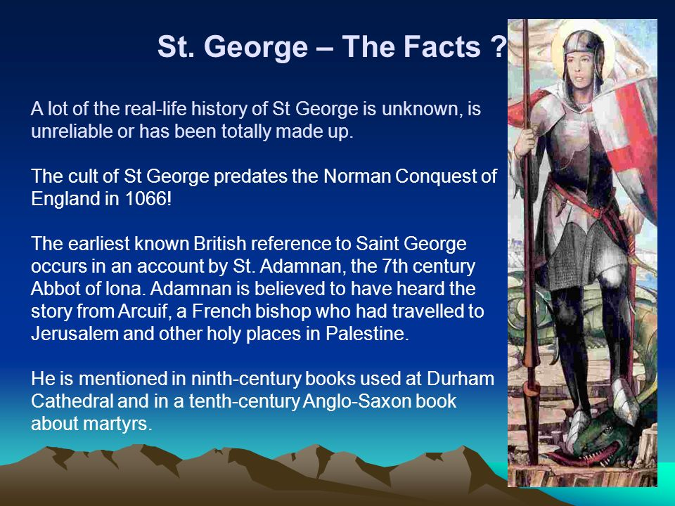St. George – The Facts .