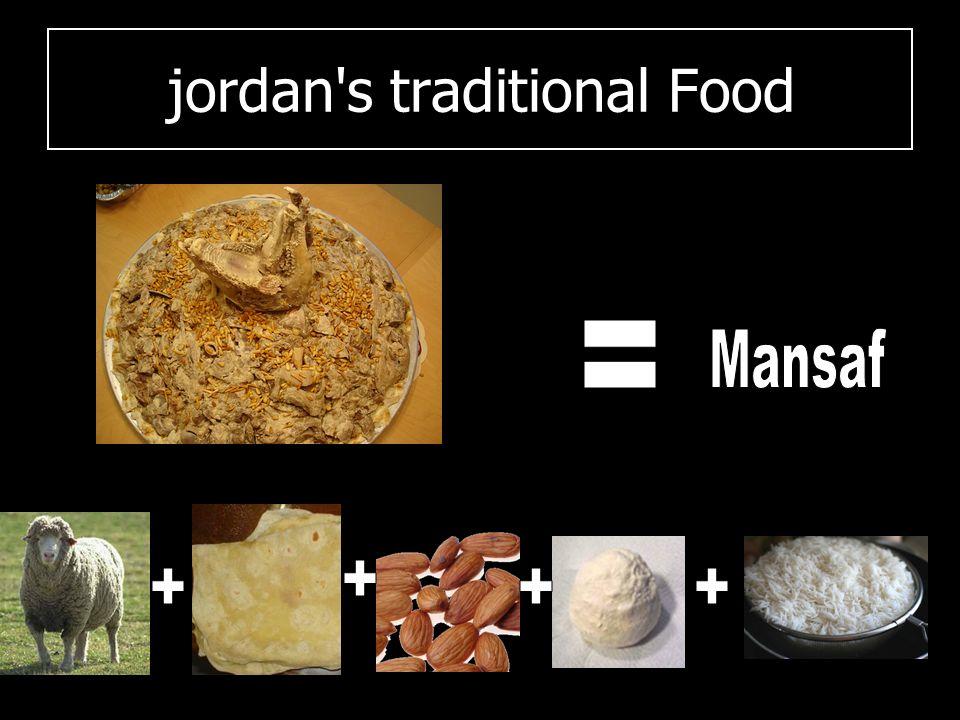 jordan s traditional clothes
