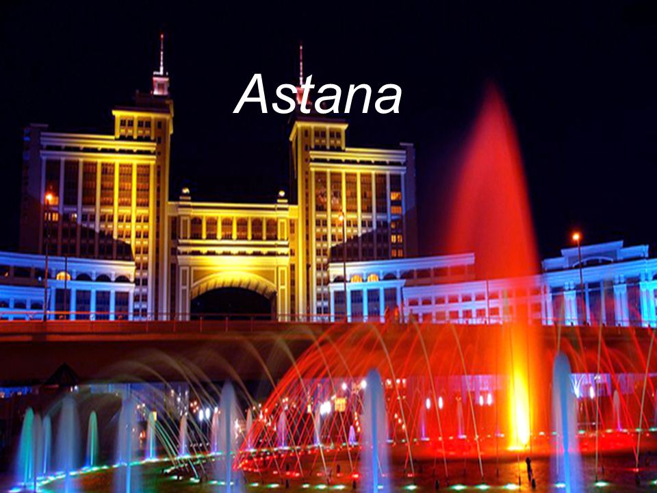 Astana became the capital of Kazakhstan in 1997.