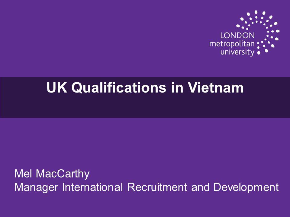 FTU and LMU Developments u In 2011/12, London Metropolitan University will validate FTUs four year BSc Finance.