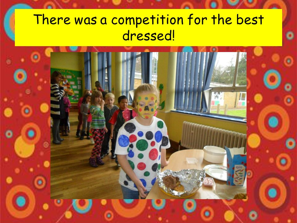We raised over £380 for the charity Children in Need.