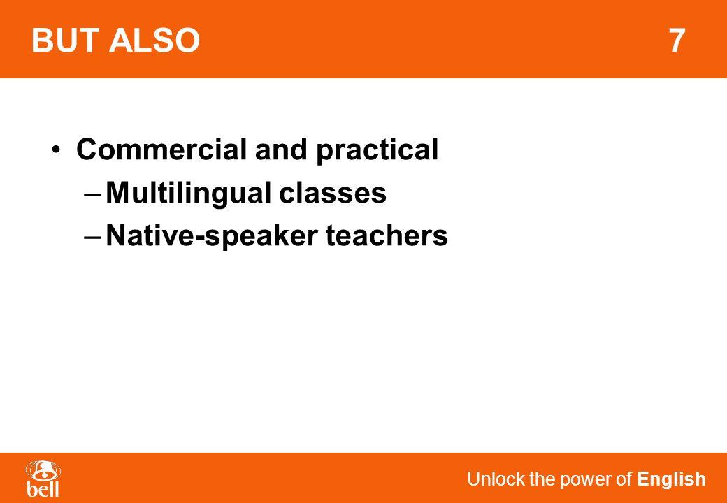 Unlock the power of English EXAMPLE 27