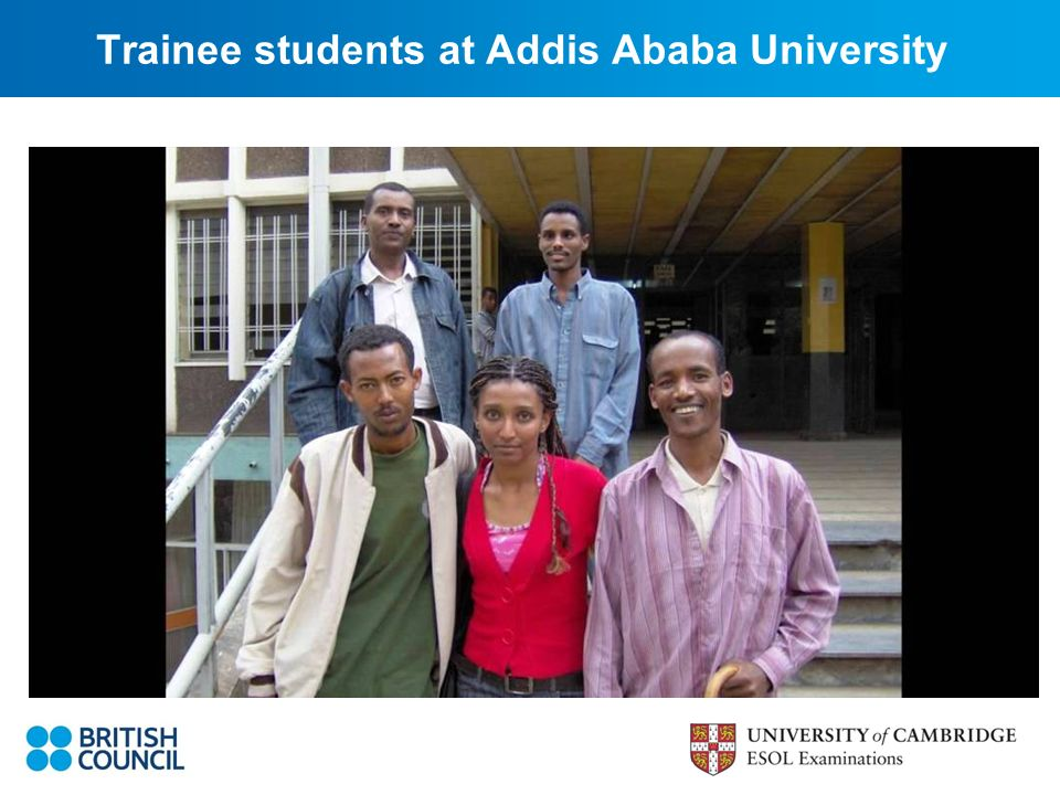 Trainee students at Addis Ababa University