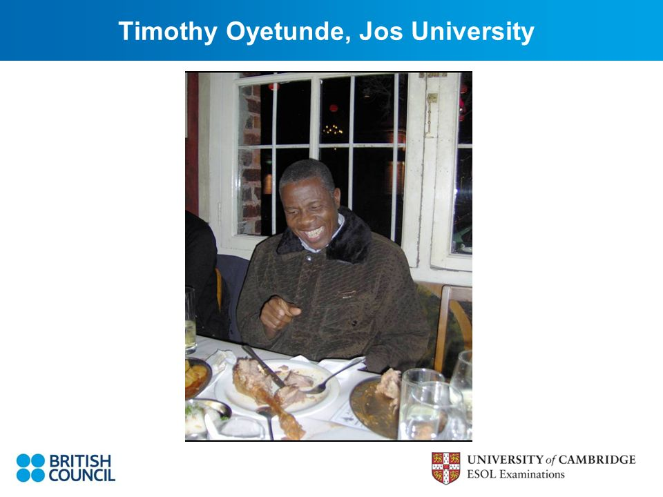 Timothy Oyetunde, Jos University