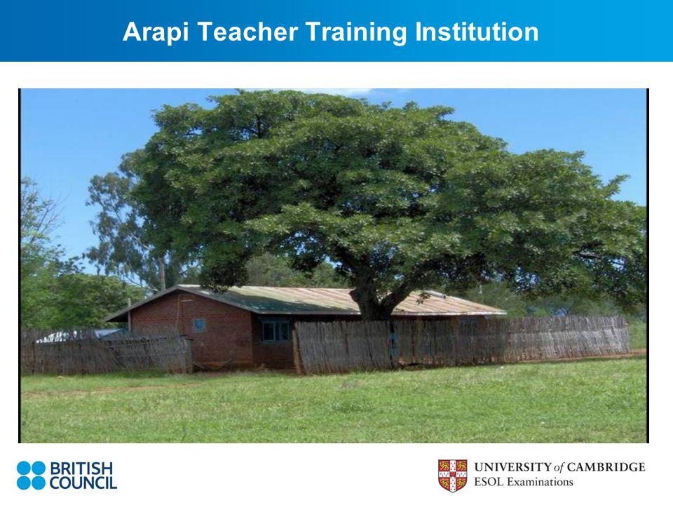 Arapi Teacher Training Institution