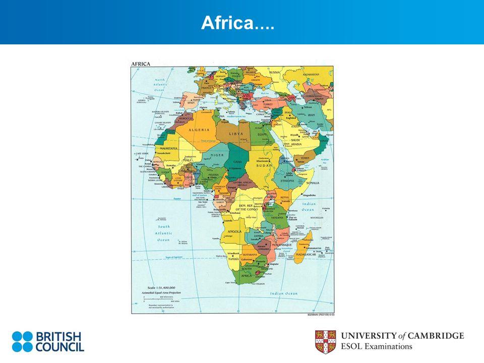 Africa ….