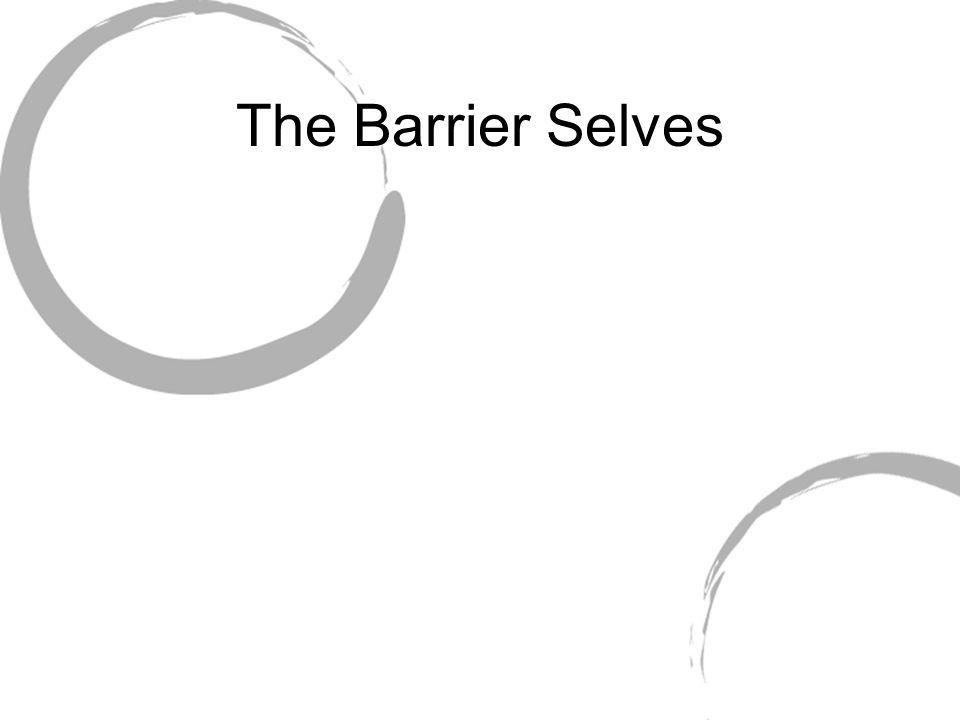 The Barrier Selves